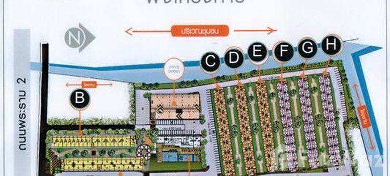 Master Plan of Smart Condo at Rama 2 - Photo 1