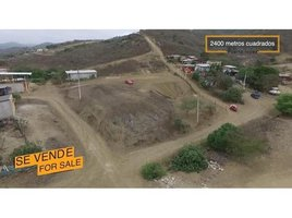 N/A Land for sale in Puerto Lopez, Manabi Puerto Lopez 2400m2: 2400m2 with east access and nice views., Puerto Lopez, Manabí