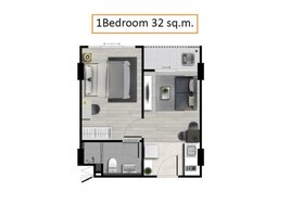 1 Bedroom Property for sale in Fa Ham, Chiang Mai Dcondo Rin