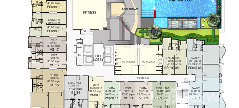 Master Plan of Supalai Vista Tiwanon - Photo 1