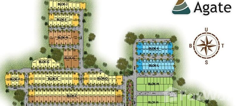 Master Plan of The Golden Stone Serpong - Photo 1