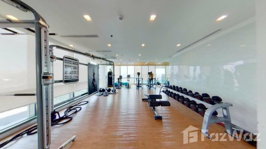 3D Walkthrough of the Communal Gym at Wish Signature Midtown Siam