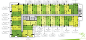 Building Floor Plans of Punna Residence Oasis 1
