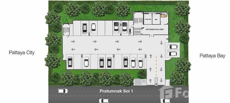 Master Plan of Knightsbridge Central Pattaya - Photo 1