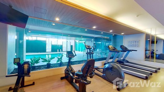 3D Walkthrough of the Communal Gym at The Unique at Ruamchok