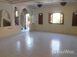 Marrakech Tensift Al Haouz Sidi Bou Ot villa familiale à louer vide de 5 chambres avec petit jardin privatif et terrasse dans un quartier calme sur la route de casa - Marrakech 5 卧室 别墅 租