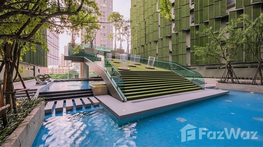 3D Walkthrough of the Communal Pool at Wish Signature Midtown Siam