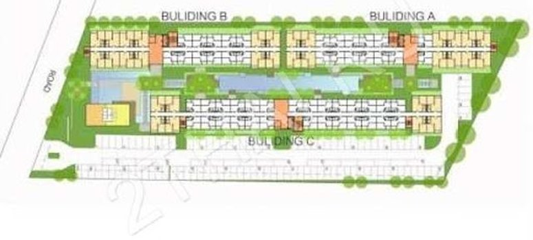 Master Plan of The Trust Central Pattaya - Photo 1