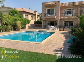 5 Schlafzimmern Immobilie zu vermieten in , Cairo Villa with pool rent in Katameya Heights Golf view