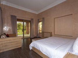 Marrakech Tensift Al Haouz Na Menara Gueliz Magnifique villa style moderne à louer meublée toute neuve, 6 chambres avec piscine privative et Jardin situé à 15km sur la Route de Ouarzazzat 6 卧室 屋 租