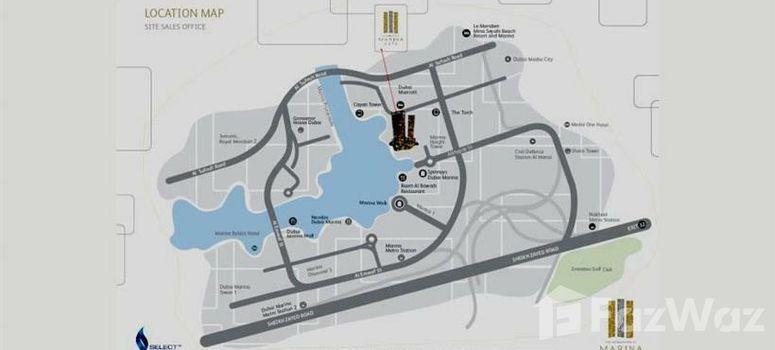 Master Plan of Marina Gate 1 - Photo 1