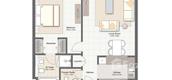 Unit Floor Plans of Zohour 1