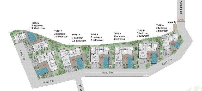 Master Plan of Bamboo Garden Villa - Photo 1