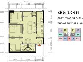 2 Bedrooms Condo for sale in Yen Hoa, Hanoi A10-A14 Nam Trung Yên