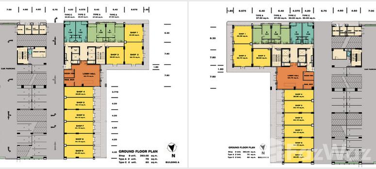 Master Plan of TC Green Rama 9 - Photo 1