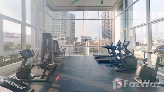 3D Walkthrough of the Communal Gym at The Bloom Sukhumvit 71