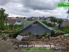 N/A Land for sale in Ward 4, Lam Dong Bán 571m+66 (0) 2 508 8780m2 XD) đất phù hợp Homestay, biệt thự có view. P4, Đà Lạt