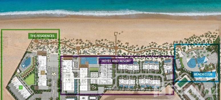 Master Plan of Nikki Beach Resort and Spa Dubai - Photo 1