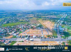 N/A Land for sale in Dien Thang Bac, Quang Nam Bán đất Trạm Thu Phí Điện Bàn. Đã có sổ. Hỗ trợ vay 50%. Liên hệ: +66 (0) 2 508 8780