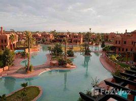 Marrakech Tensift Al Haouz Sidi Bou Ot Terrain titré zone villa à River Palm Marrakech N/A 土地 售