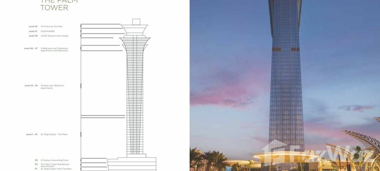 Master Plan of The Palm Tower - Photo 1