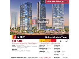 Aceh Pulo Aceh Apartemen Sedayu City Tower Darwin Lantai 23 Kelapa Gading 1 卧室 住宅 售
