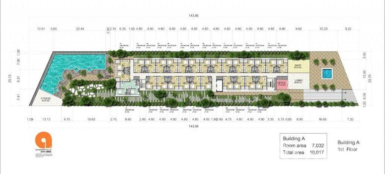 Master Plan of Arcadia Center Suites - Photo 1