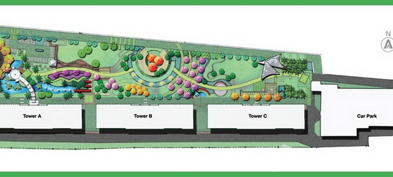 Master Plan of Abstracts Phahonyothin Park - Photo 1