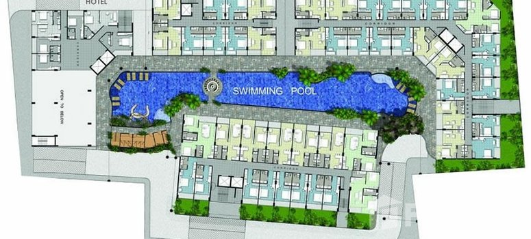 Master Plan of Centara Avenue Residence and Suites - Photo 1