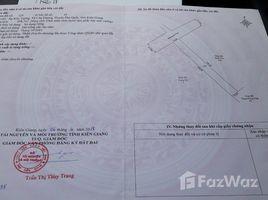 坚江省 Cua Duong Bán đất mặt tiền đường Ba Trại (phía núi), Cửa Dương, Phú Quốc N/A 土地 售