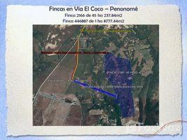 N/A Terreno (Parcela) en venta en Coclé, Coclé VIA EL COCO PENONOME CABECERA, REPÚBLICA DE PANAMÁ, Penonomé, Coclé