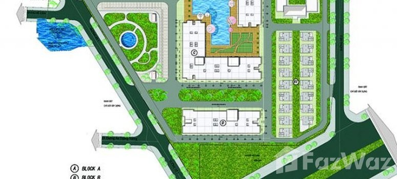 Master Plan of City Gate Towers - Photo 1