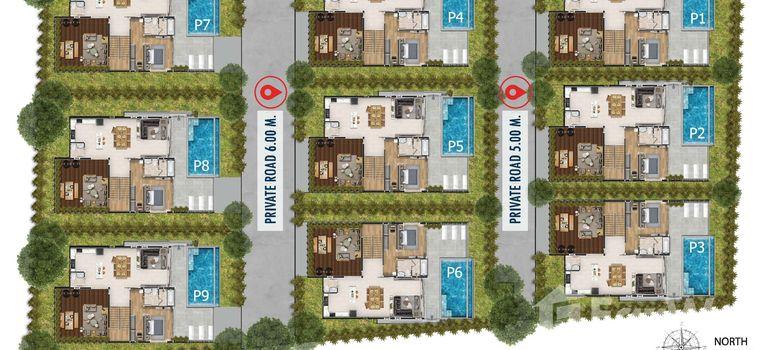 Master Plan of Paragon Villas - Photo 1