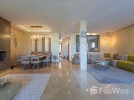 4 Bedrooms Villa for rent in Na Machouar Kasba, Marrakech Tensift Al Haouz Villa première ligne de golf à louer meublée