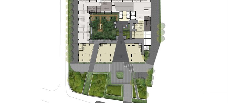 Master Plan of Ideo Sukhumvit - Rama 4 - Photo 1