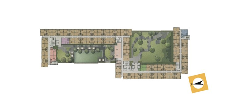 Master Plan of The Trust Residence Ratchada-Rama 3 - Photo 1