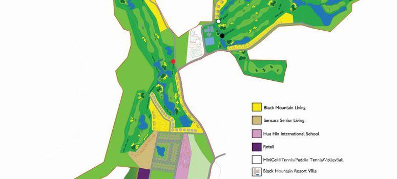 Master Plan of Black Mountain Golf Course - Photo 1