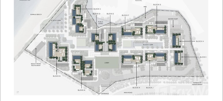Master Plan of Twinpalms Residences by Montazure - Photo 1