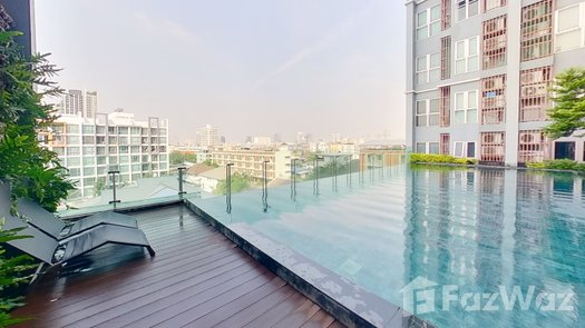 3D Walkthrough of the Communal Pool at Centric Ratchada-Suthisan