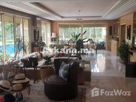 Rabat Sale Zemmour Zaer Na Agdal Riyad Location Villa Meublée Rabat Souissi REF 1527 5 卧室 别墅 租