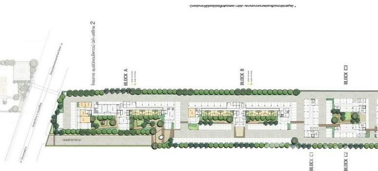 Master Plan of Lumpini Condotown Nida-Sereethai 2 - Photo 1