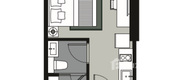 Unit Floor Plans of Whizdom Station Ratchada-Thapra