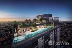 XT Huaikhwang Real Estate Development in Din Daeng, Bangkok