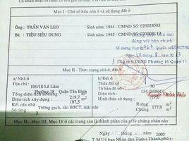 4 Bedrooms House for sale in Phu Thanh, Ho Chi Minh City Đ/C: 212 Lê Lâm (hậu 12x19m) 177m2, 2 tấm đúc, giá cực tốt. LH: +66 (0) 2 508 8780 - Nguyễn Thành Linh