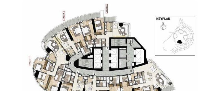 Master Plan of Tower A - Photo 1