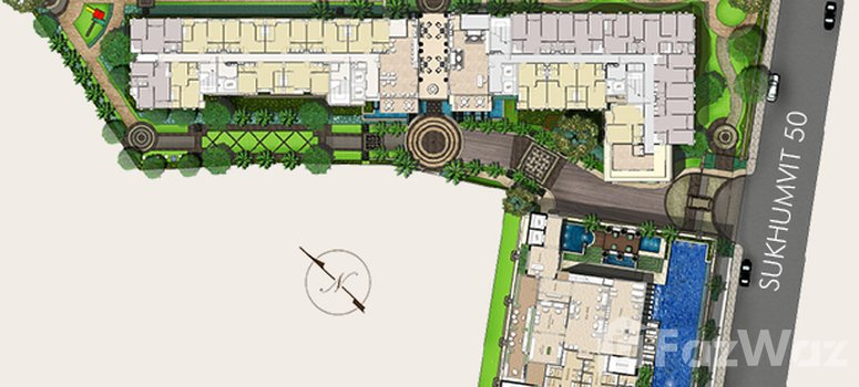 Master Plan of Mayfair Place Sukhumvit 50 - Photo 1