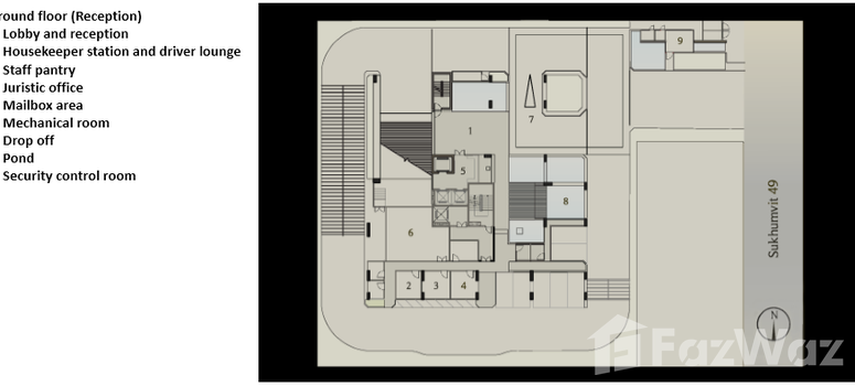Master Plan of Aequa Sukhumvit 49 - Photo 1