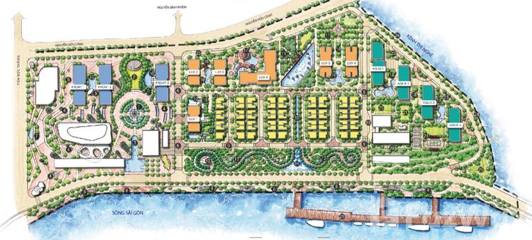 Master Plan of Vinhomes Golden River - Photo 1