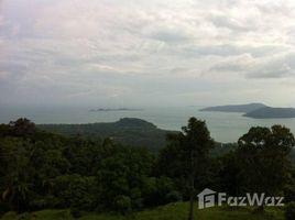 N/A ที่ดิน ขาย ใน ตลิ่งงาม, เกาะสมุย Marvellous Sea View Land For Sale