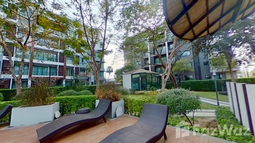3D Walkthrough of the Communal Garden Area at Himma Garden Condominium
